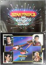 "Original Star Trek Ii:Wrath of Khan Poster Set of 2- Rolled 21"" x 31"""