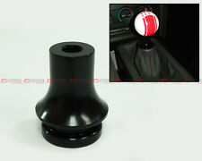 M10 X 1.25 BLK ALUMINUM GEAR SHIFT KNOB BOOT RETAINER ADAPTER FOR MAZDA MODEL