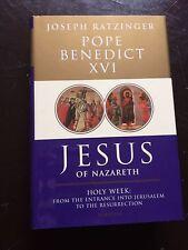 Jesus of Nazareth by Joseph Ratzinger Pope Benedict XVI Hardcover Book (English)