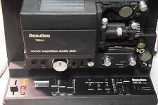 S8 projecteur BEAULIEU 708 EL-Capstan drive + Schneider MC xenovaron 1,1/11 -
