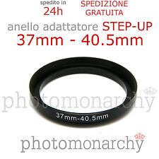 Anello STEP-UP adattatore da 37mm a 40.5mm filtro - STEP UP adapter ring 37 40.5
