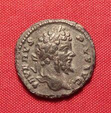 Ancient Roman Bronze Septimius Severus Denarius Barbaric Imitation! Rare!