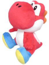 "Yoshi (RED) Super Mario Bros. 6""  Plush Official Sen-Ei Little Buddy"