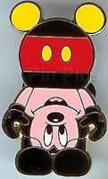 Disney Pin 63500 Mickey Vinylmation upside down Preproduction PP LE Only 3 made