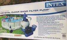 Intex Krystal Clear Sand Filter Pump Sf15110 #56673Eg