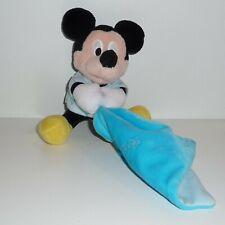 Doudou Souris Disney - Mickey - Bleu