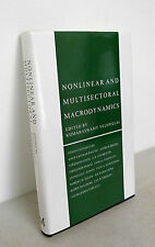 Velupillai(ed.)NONLINEAR AND MULTISECTORAL MACRODYNAMICS,1990[economia,Goodwin