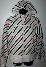 LULULEMON Womens Striped Scuba Hoodie , Check Dimensions Tag Missing
