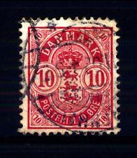 DENMARK - DANIMARCA - 1884-1902 - Stemma in ovale