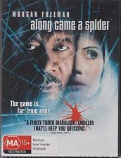 ALONG CAME A SPIDER - MORGAN FREEMAN - MONICA POTTER -  DVD - NEW