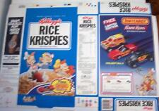 1991 Rice Krispies Matchbox offer Cereal Box unused factory Flat kz38