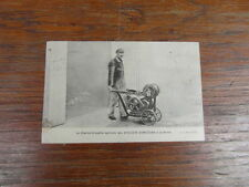CPA CHARIOT BROUETTE AGRICOLE ATELIERS D ORLEANS + CACHET JEUX OLYMPIQUES 1924