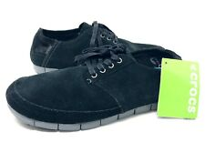 Crocs Mens Stretch Sole DESERT Shoes Size 12 Black NEW WITH TAGS