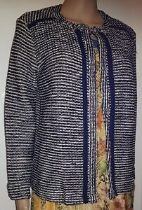 Winter Womens Knitted Cardigan Ladies Long Sleeve Sweater Ladies fashion Size 14