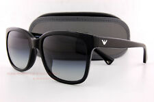 Brand New EMPORIO ARMANI Sunglasses 4042 5017/8G BLACK/GRADIENT GRAY Women