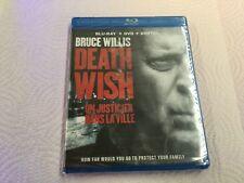 DEATH WISH     ( BLU-RAY + DVD + DIGITAL  ) BRAND NEW SEALED