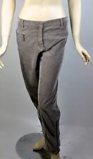 $1,195 NWT Brunello Cucinelli Womens Dark Beige Corduroy Pants Sz 50 / 14