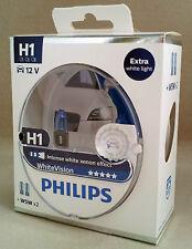 H1 PHILIPS White VisionLámpara 60%+ Luz 12V 55W 12258WHVSM EAN 8711500788849