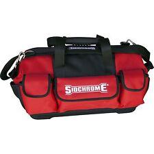 Sidchrome HEAVY DUTY OPEN TOTE TOOL BAG 510mm SCMT50003 RED *Aust Brand