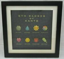 Pokemon Gym Badges Of Kanto Pokemon Center Online Limited Edtition Fedex F/S