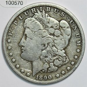 1890-O Morgan Dollar Silver 100570 *SFCOIN