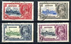 Ascension 1935 Silver Jubilee Set of 4 Fine Used