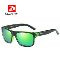 DUBERY Polarized Sport Mens Sunglasses Outdoor Driving Green Lenses Glasses New