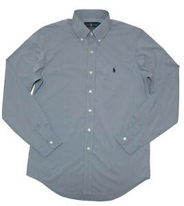 Ralph Lauren Mens Shirt Classic Fit Performance Long Sleeve XL L M S SP