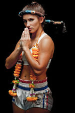 Tiffany Van Soest 8x10 Photo Picture Lion Fight WBC Muay Thai Kickboxing Champ