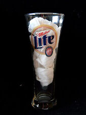 """Miller Lite #2 Rusty Wallace Tall Beer Glass - 8 1/4"""""""