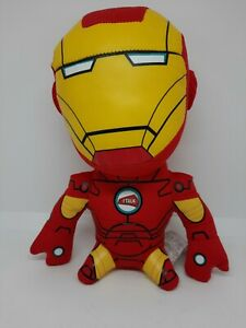 Kids Talking And Light Up Iron Man Marvel Avengers Soft Toy Plush - Red & Yellow