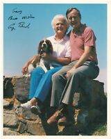"8"" x 10"" Color Photo Signed by George H. W. Bush with COA"