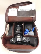 35mm Ricoh XR-S Film Camera and Accessories