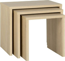 CAMBOURNE NEST OF TABLES IN SONOMA OAK EFFECT VENEER