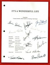 IT'S A WONDERFUL LIFE MOVIE SCRIPT RPT JAMES STEWART  DONNA REED