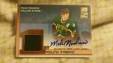 MIKE MODANO 2002/03 TOPPS FIRST ROUND FABRICS GAME 2 COLOR JERSEY AUTOGRAPH AUTO