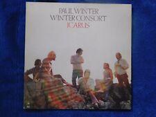 Paul Winter/Winter Consort-Icarus- Vinyl LP- Epic - PE 31643 Cobham Towner