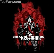 Changlorious Basterds - Community Inglorious Tarantino TeeFury - ML Mens Large
