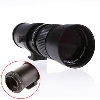 420-800mm F/8.3-16 Super téléobjectif Zoom pour Nikon D810 D750 D800 E D7100 D5