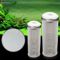 Stainless Steel Mesh Aquarium Filter Guard Strainer Fish Shrimp Safety Protect