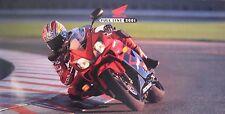2001 Honda Full Line Motorcycle Brochure Touring Valkyrie Shadow Nighthawk ATV