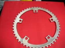 Stainless Steel CNC machined 1/8th chain rings.144 bcd. 47- 52.Totally SUPERB
