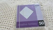 Pfaff Embroidery Machine Creative Fantasy Quilt #50 7570 7560 2140 2170 EXCELL