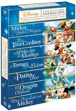 Pack Fábulas Disney 1-7 DVD