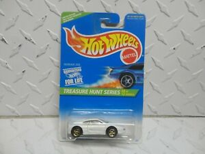1996 Hot Wheels Treasure Hunt #435 White Ferrari 355 w/PC Wheels