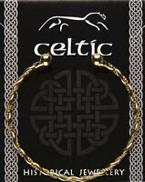 Celtic Gold Plated Twisted Bracelet