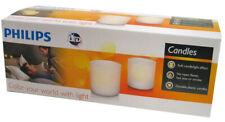 Philips Tea Lights 2 Set Lampes de Tables - Bougies artificielles rechargeables