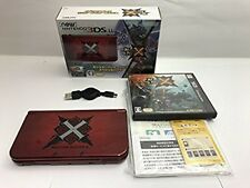 Used Monster Hunter Cross X special pack Nintendo 3DS LL console Japan edtion