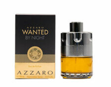 New In Box Azzaro Wanted by Night by Azzaro 3.4 oz EDP Cologne for Men