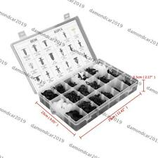 415 pcs Car Push Pin Rivet Bumper Door Panel Clip Retainer Fastener For Ford DN